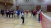 Badminton Festival organised by Active Schools and Jane Grant- Badminton Scotland Highland Development Officer
