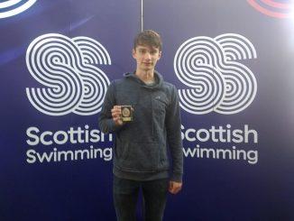 Angus Blance bronze 50 breast Scottish Summer Meet