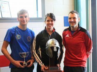 Intercounty winners 2018 Paul Kerr - Jo donaldson - Neil Croy (missing from photo Mark Dowell