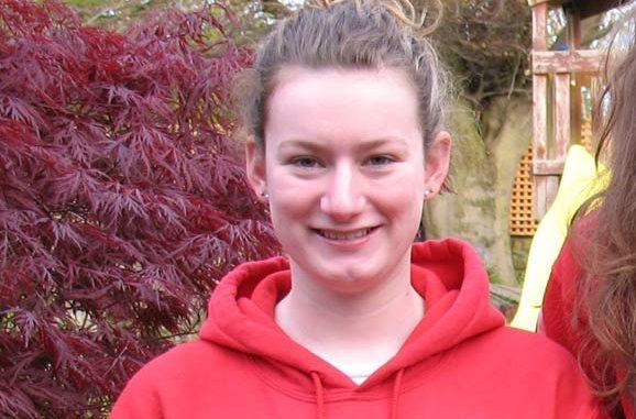 Molly Blance at Aberdeen long course meet